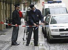 Rekonstrukce vraždy podnikatele Kočky mladšího se uskutečnila za silné policejní ochrany v pražské restauraci Monarch.