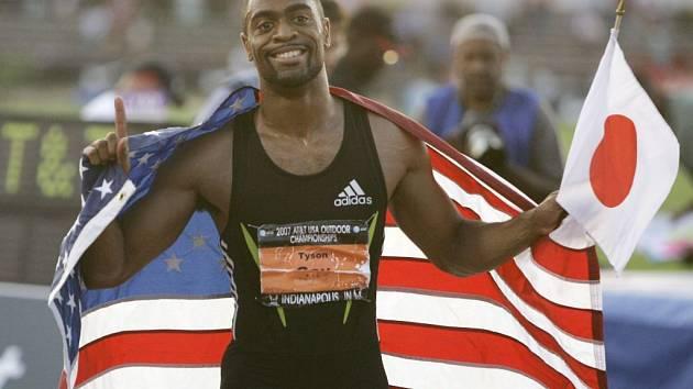 Tyson Gay se časem 9,84 sekundy suverénně zařadil na první místo letošních světových tabulek v běhu na 100 metrů.