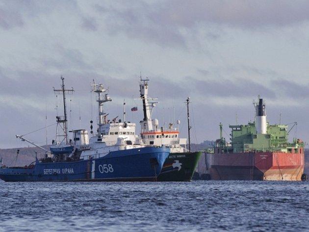 Loď Arctic Sunrise, kterou ruské úřady loni zabavily mezinárodní ekologické organizaci Greenpeace při protestu aktivistů u ruské těžební plošiny v Barentsově moři, dorazila po roce zpět do Evropy.