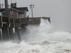 Hurikán Sandy.