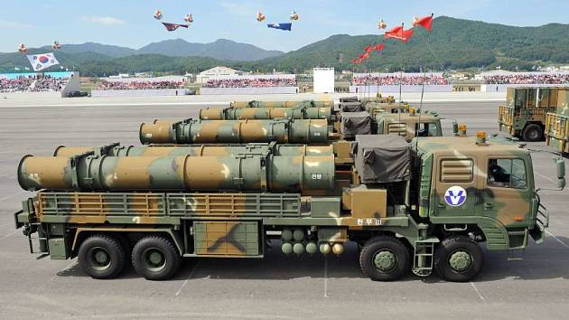 Jihokorejské rakety Hyunmoo