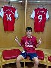 Když fotbalista FK Ústí nad Labem navštíví stadionu Arsenalu.