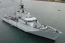 Loď britského námořnictva HMS Mersey