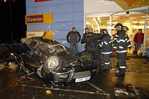 Tragická nehoda ve Sprotovní ulici