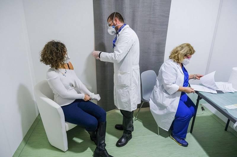 Očkování proti koronaviru v Itálii
