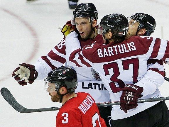 Lotyši měli důvod k radosti. Porazili Švýcary