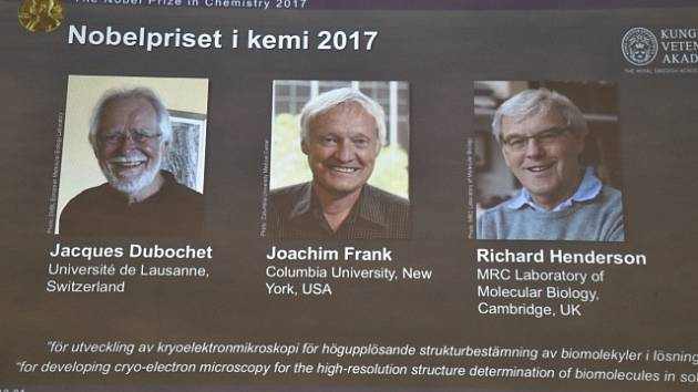 Nositelé Nobelovy ceny za chemii za rok 2017