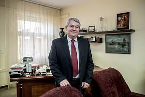 Předseda KSČM Vojtěch Filip.