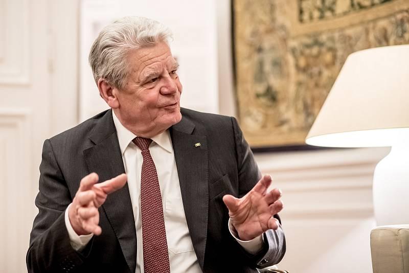 Bývalý německý prezident Joachim Gauck.