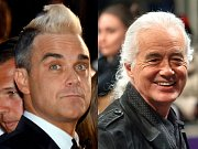Robbie Williams a Jimmy Page