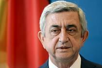 Prezident Arménie Serž Sargsjan.