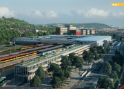 Smíchovské nádraží navrhovaná podoba. Krok 2