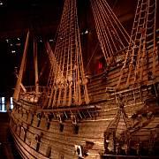 Válečná loď Vasa švédského krále Gustava II. Adolfa v muzeu ve Stockholmu