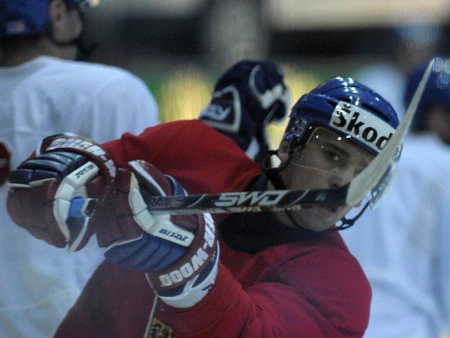 Hokejový útočník Tomáš Plekanec.