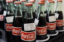 Lahve Coca-Coly.