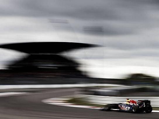 Sebastian Vettel během Velké ceny Německa.