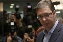 Aleksandar Vučić v roce 2016 ještě jako premiér.