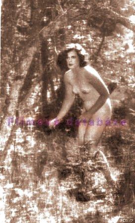 Hedy Lamarrová ve svých sedmnácti letech ve filmu Extase.