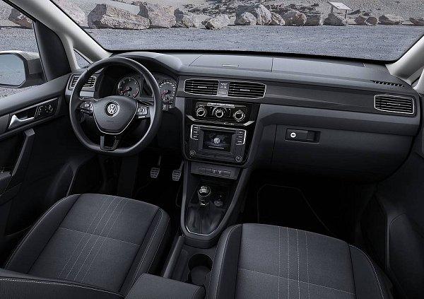 Volkswagen Caddy Alltrack.