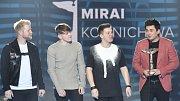 Skupina Mirai s cenou Anděl v kategorii objev roku za album Konnichiwa. Ceny za nejlepší hudební počiny uplynulého roku byly předány 20. března 2018 v pražském Foru Karlín.