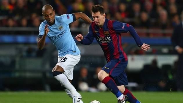 Barcelona - Manchester City: Lionel Messi v akci
