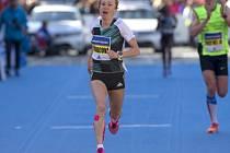 Pražský půlmaraton 2016: Eva Vrabcová útočila na český rekord.