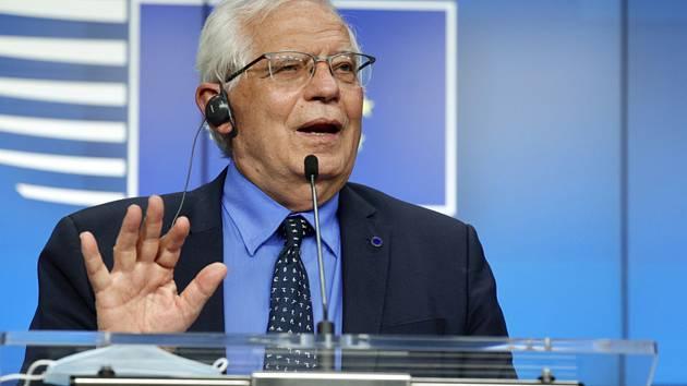 Šéf unijní diplomacie Josep Borrell