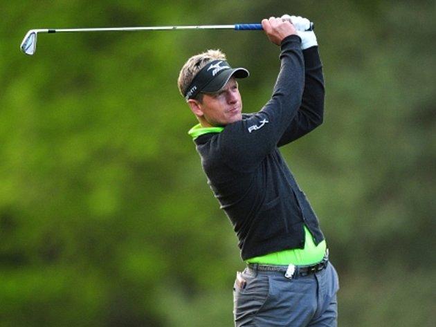Golfista Luke Donald.