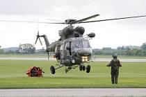 Vojenský víceúčelový dvoumotorový vrtulník W-3A SOKOL.