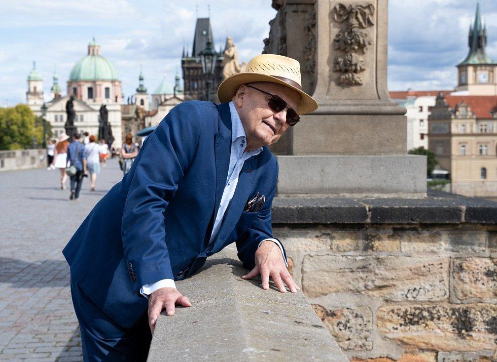 Herec a pedagog Jan Přeučil