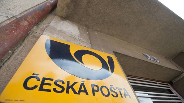 Česká pošta. Ilustrační snímek