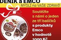 Deník a Emco myslí na Vaše zdraví