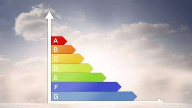 """Sedm písmenek abecedy od """"A"""" až do """"G"""" , které zákazníkovi na první pohled ozřejmí, kolik bude nově kupovaný spotřebič spotřebovávat energie."""