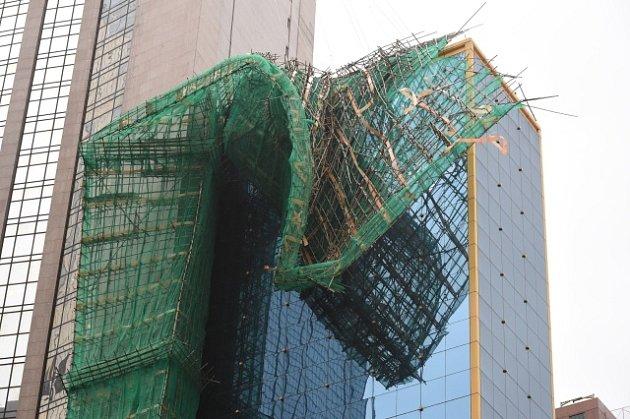 Hongkong zasáhl mocný tajfun