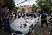 Následky silného zemětřesení v Mexiko.