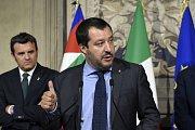 Šéf strany Liga severu Matteo Salvini