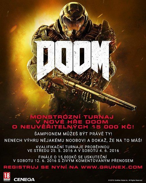 Turnaj vnové hře Doom.