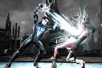 Počítačová hra Injustice: Gods Among Us.