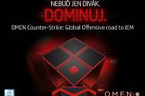 Herní turnaj Omen Counter Strike: Global Offensive road to Intel Extreme Masters.