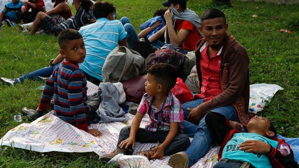 Ze středoamerického Hondurasu vyrazila nová karavana migrantů