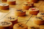 Moderní čínské šachy zřejmě z dávné hry liubo vycházejí