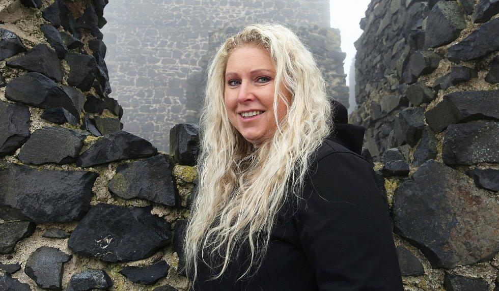 Kastelánka hradu Hazmburk  Miriam Němcová