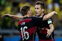 Fotbalisté Německa si v neděli poosmé zahrají finále mistrovství světa.