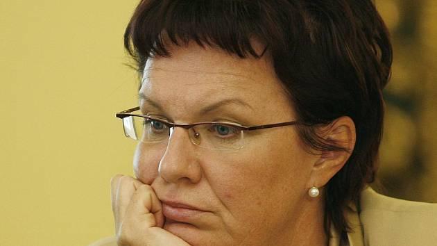 Ministryně Dana Kuchtová.