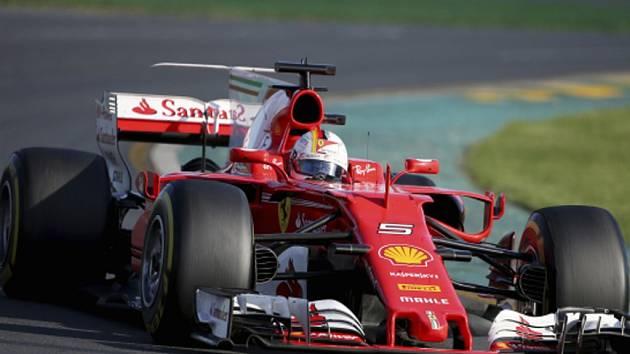Sebastian Vettel ve Velké ceně Austrálie.