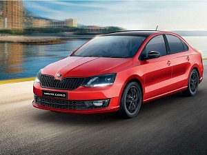 Škoda Rapid Monte Carlo v Indii