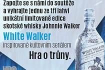 Soutěž o skotskou whisku Johnnie Walker.