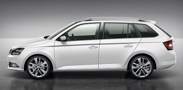 Škoda Fabia Combi.
