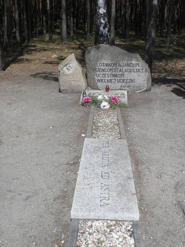 Památník válečných zajatců v Polsku