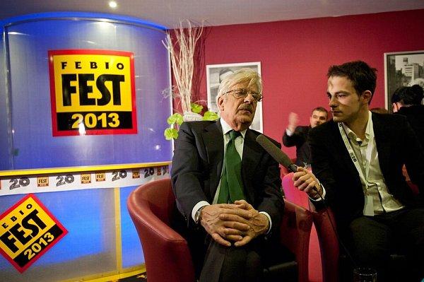 Italský herec Giancarlo Giannini, známý zViscontiho Nevinného ibondovek, dělal na Febiofestu čest svému národu - byl společenský a vtipný…